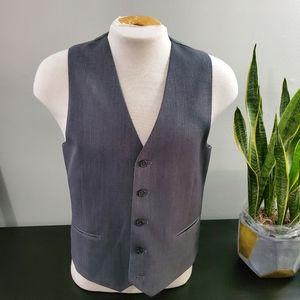 Calvin Klein slim fit gray vest size: M
